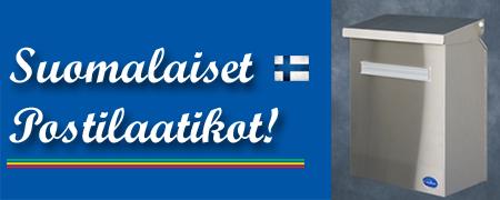 suomalaiset postilaatikot