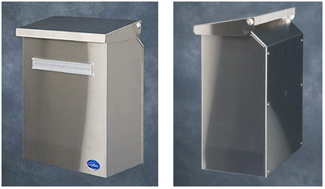 Metallinen postilaatikko - Citybox